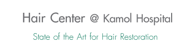 Hair center @ Kamol Hospital State of the Art for Hair Restoration